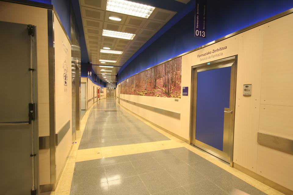 Proyecto adecuación del Hospital de Cruces