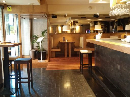 Refurbishment in Aker Bar. Getxo