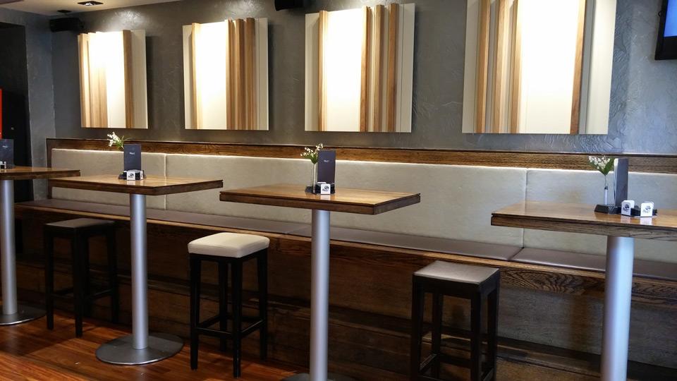 Mobiliario Bar Aker Susaeta Interiorismo