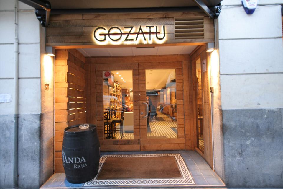 Entrada Bar Gozatu García Rivero