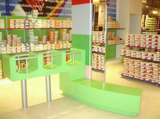 Megacalzado, Centro Comercial Zubiarte. Bilbao