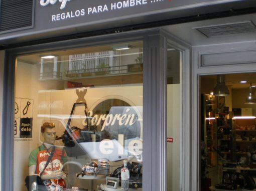 Tienda Sorpréndele – Regalos para hombres. Bilbao