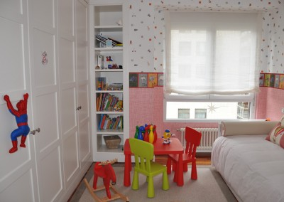 Wardrobe in Child's bedroom. Home in Bilbao