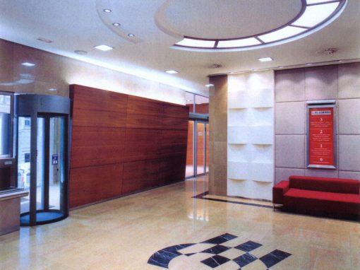 Hall del Periódico El Correo Español. Bilbao