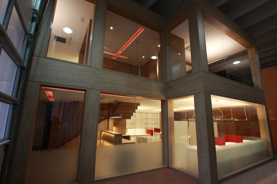 Interior Oficinas Sumelec Vizcaya S.L.