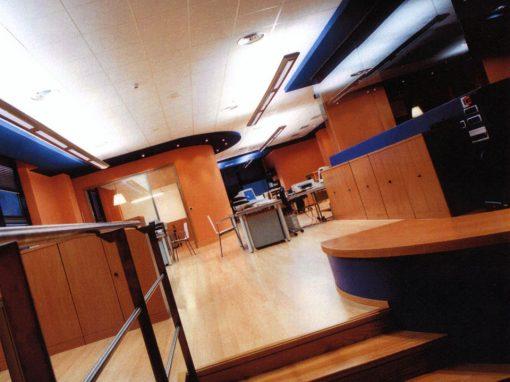 Oficinas Irusoin Producciones. Donostia