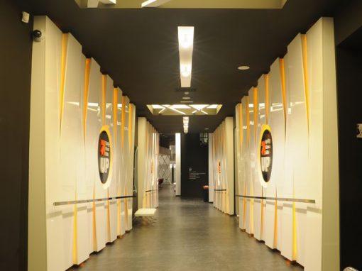 UP  Quality  Fitness  Club  Ayala  Antzokiaren  egoitza  izandako  eraikinean,  Bilbon