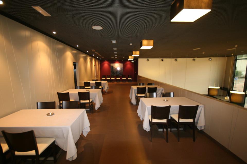 Vistas del comedor Restaurante Arrago Meatza
