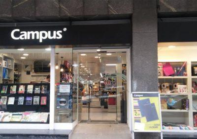 Librería Campus en Areeta y Bilbao
