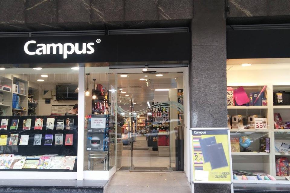 Librer a campus areeta y bilbao reforma integral landa for Libreria nautica bilbao