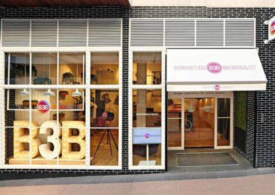 Refurbishment in shops bars and restaurants landa for Gimnasio ballonti