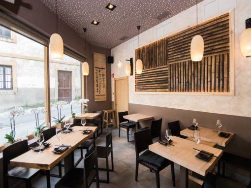 Nikkou Japanese restaurant in Algorta