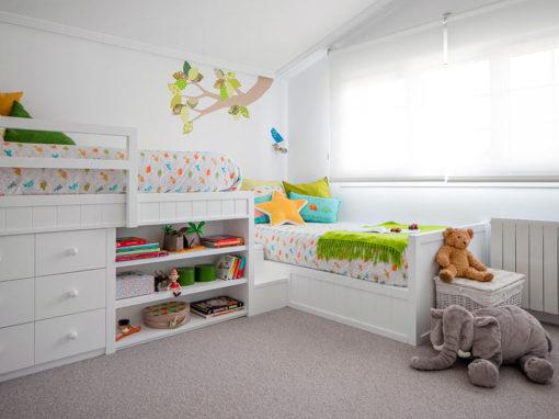 Habitación infantil en Larrabetzu – Bizkaia