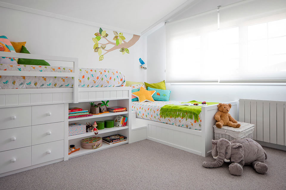 Child's room in Larrabetzu