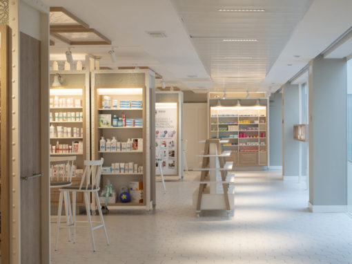 Showroom for the pharmaceutical company Cinfa in Navarre